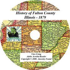 1879 History & Genealogy of FULTON County Illinois IL