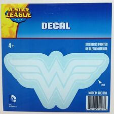 DC Comics Justice League Wonder Woman logo Car Window Sticker Decal Family 6""