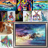 5D DIY Diamond Painting Animal Embroidery Cross Craft Stitch Kit Home Wall Decor