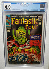 Fantastic Four #49 cgc 4.0 - 1st full Galactus 2nd app Silver Surfer - 1st cover