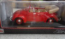 Modellauto VW Käfer Cabrio 1951 1:18 rot selten