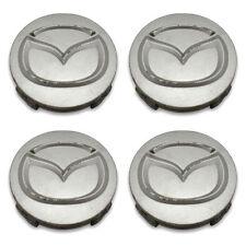 SET OF 4- FREE SHIPPING Mazda 2032 Maita MX5 3 5 6 MPV Wheel Center Caps Hubcaps