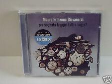 """MAURO ERMANNO GIOVANARDI """"HO SOGNATO TROPPO L'ALTRA NOTTE?""""  CD"""