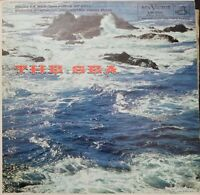 The Sea Debussy Ibert Boston Symphony Vinyl Record 1959 LP VG+ LM-2111 RE