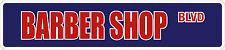 """*Aluminum* Barber Shop 4"""" x 18"""" Metal Novelty Street Sign  SS 481"""