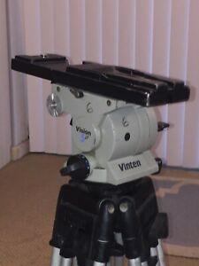 Vinten 5 Professional Video Tripod ( Legs & Head ) Perfect for DSLRs