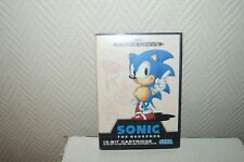 JEU VIDEO  SEGA MEGA DRIVE SONIC THE HEDGEHOG   VINTAGE RETRO GAMING