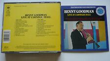 BENNY GOODMAN - Live at Carnegie Hall - DCD