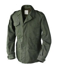 WWII US MILITARY M-43 FIELD JACKET M-1943 OD FATIGUE SIZE 44 MEDIUM REPRODUCTION