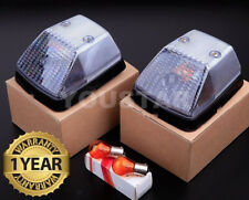 Direct Fit Turn Signal Repeater Lights 2x for Mercedes G W463 W461 W460 CLEAR