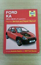 FORD KA MK1 PETROL 1996-1999 HAYNES WORKSHOP MANUAL 3570 IN GOOD COND FREE P&P