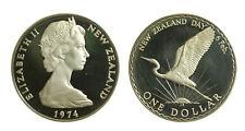 s23_1)  New Zealand Dollar KM# 45 1974 Elizabeth
