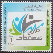 Qatar 2010 ** Mi.1376 Volkszählung Population Census