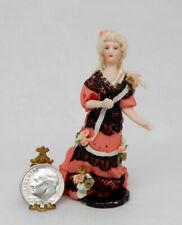 Vintage Porcelain Victorian Lady Doll Artisan Dollhouse Miniature 1:24