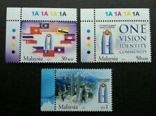 Malaysia 11th Asean Summit 2005 Flag Twin Tower City Country (stamp plate) Mnh