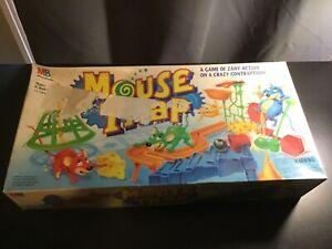 1994 Mouse Trap Board Game Milton Bradley Cheese Original - READ