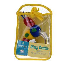 Manhattan Baby Caterpillar Ring Rattle