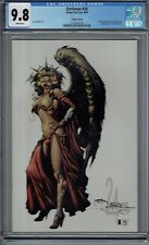 CGC 9.8 DARKNESS #24 RARE VARIANT COVER WITH TOMB RAIDER PIN-UP BACK COVER