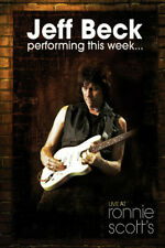 Jeff Beck Performing This Week Live At Ronnie Scott's DVD (Eagle Vision) Nuovo