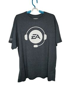 Rare EA Sports Offical FY18 Game Launches - T Shirt Gray - Men's (Size XL)