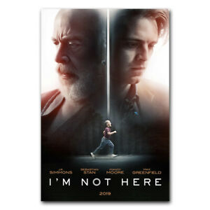 I'm Not Here Wall Movie Poster Film Art Print Picture Room Decor 24x36 inch