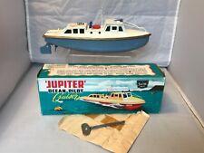 "VINTAGE SUTCLIFFE TINPLATE CLOCKWORK ""JUPITER "" OCEAN PILOT CRUISER ORIGINAL BOX"