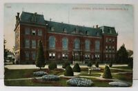Agricultural Building Washington DC 1910 to Hagerstown Md Postcard A11