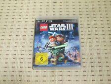 Lego Star Wars III The Clone Wars para PlayStation 3 ps3 PS 3 * embalaje original *
