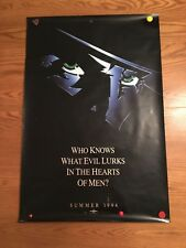 The Shadow Original Movie One Sheet Poster 1994