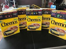 Set 5 General Mills Cheerios Cereal Box Historic 2001 Team Dodge Die-Cast E81