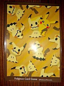 Mimikyu and Pikachu Pokemon Card Sleeve Deck Shield Single