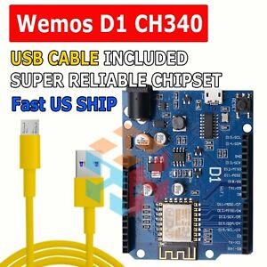 WeMos D1 CH340 WiFi Full Size Development Board ESP8266 ESP-12F Arduino UNO R3