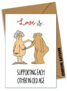 Funny VALENTINES BIRTHDAY ANNIVERSARY Card Boyfriend Husband Girlfriend Wife /AR