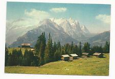 Switzerland - Wetterhorn und Eiger von Brunig aus - Vintage Postcard