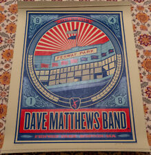 Dave Matthews Band Poster Fenway 5/29/2009 RARE 91/1800 Signed/Numbered