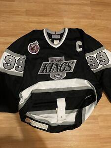 LA Wayne Gretzky Ultra fil CCM Los Angeles Kings Authentic NHL Hockey Jersey 52