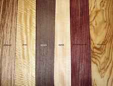 REAL WOOD VENEER 18  EXOTIC SHEETS FOR CRAFTS,MARQUETRY,REFURBISHMENT,BOXES,