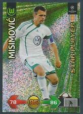 PANINI UEFA CHAMPIONS LEAGUE 2009-10 TRADING CARD-WOLFSBURG-ZVJEZDAN MISIMOVIC