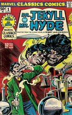 MARVEL CLASSICS COMICS. No. 1, 1976. DR. JEKYLL AND MR. HYDE