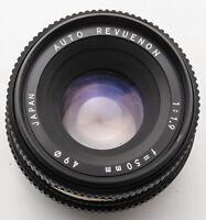 Auto Revuenon 50 mm 50mm 1.9 1:1.9 - Pentax PK