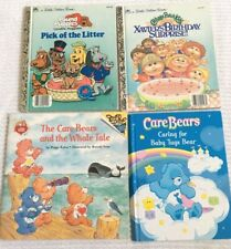 Lot 4 Vintage 80s Childrens Books Care Bears Pound Puppies Cabbage Patch Fun P-1