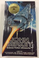 John Berkey Science Fiction Ultraworks Trading Cards Box Factory Sealed #000095