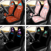 Dolphins Car Seat Covers Auto Interior Elastic Cover Universal Fit for Women Men