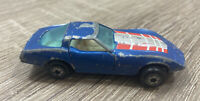 Vintage DIECAST YATMING NO. 1080 CORVETTE WITH OPENING DOORS HONG KONG