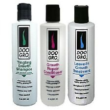 DOO GRO Complete Hair Grow & Repair Care Kit Pack of 3 Items)