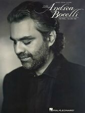 The Andrea Bocelli Song Album Sheet Music Piano Vocal Guitar Songbook  000306654