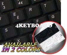 ENGLISH UK NETBOOK KEYBOARD STICKER BLACK