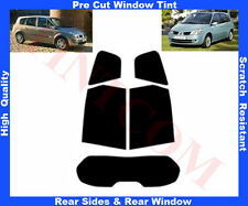 Pre Cut Window Tint Renault Grand Scenic  03-09 Rear Window&Rear Sides Any Shade