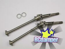 TITANIUM SWING SHAFT CVD 2PCS TEAM LOSI 1/18 MINI-T MINI BAJA LATE MODEL SLIDER