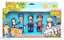 Pierre Le Facteur Articulé 5 Ensemble De Figurines Jouet Inc Jess Ted Ajay & Mrs